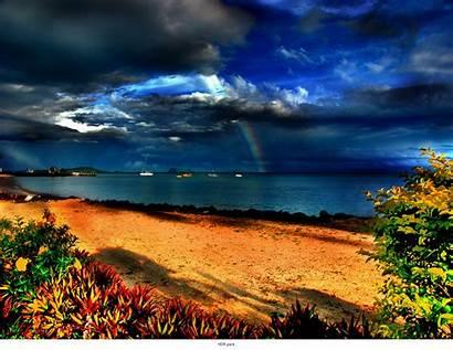 Hdr Amazing Rainbow Backgrounds Wallpapers Desktop Nature