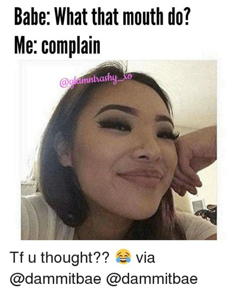 What That Mouth Do Meme - whatthatmouthdo