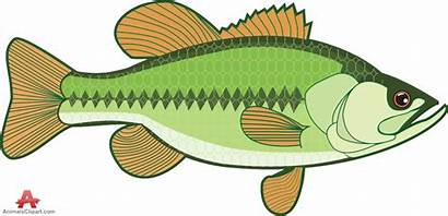 Bass Fish Clipart Clip Fishing Largemouth Gone