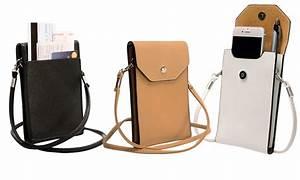 Smartphone Tasche Leder : smartphone portemonnaie tasche groupon goods ~ Orissabook.com Haus und Dekorationen