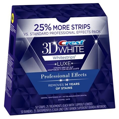 Best Whitestrips Crest 3d White Strips Luxe Professional Effects 25