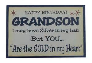 Grandson Quotes | Happy 3rd Birthday Grandson Quotes