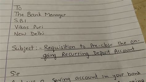 letter  bank manager   requisitionorder  pre