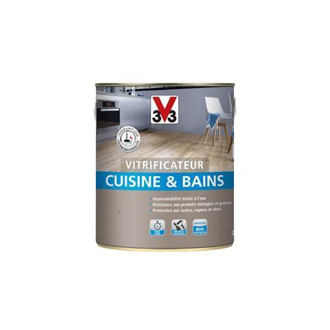 cuisine et bain magazine vitrificateur cuisine et bain cuisines bains v33 2 5 l