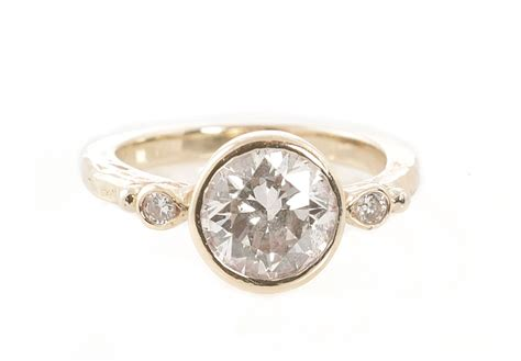 engagement rings tracy matthews smooth band instead silver