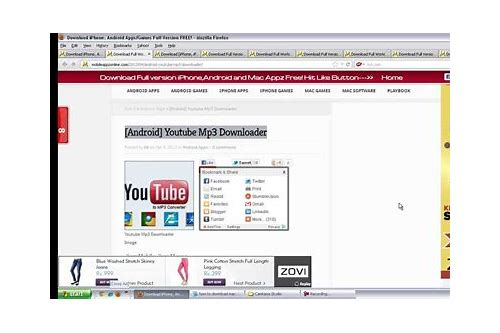 youtube mp3 downloader for android free