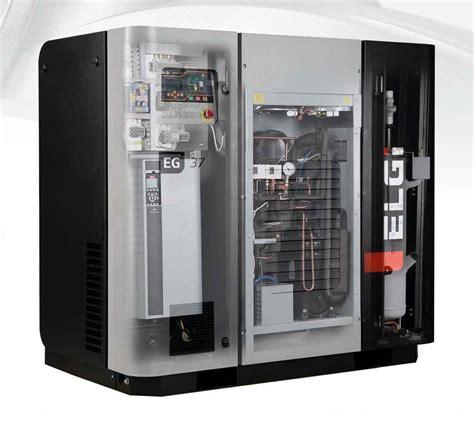 Air Compressor Screw Elgi Series Cfm Afm Gas