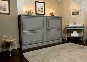 Lit Placard Ikea : le lit abattant belles solutions pour sauver d 39 espace ~ Nature-et-papiers.com Idées de Décoration