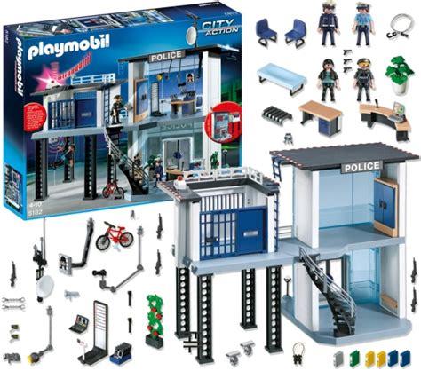 politiebureau playmobil 5182 playmobil city commissariat de avec
