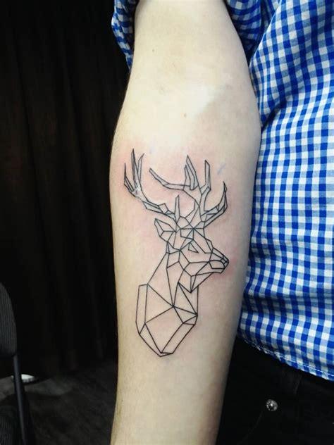 forearm deer tattoo chronic ink