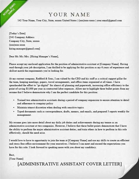 Cover Letter Administrative Assistant Template by Cover Letter Template Office Assistant 2 Cover Letter