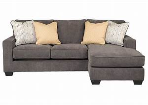 Hodan marble sofa chaise signature design by ashley for Sectional sofas by ashley furniture