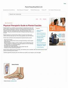 Pdf  Physical Therapist U2019s Guide To Plantar Fasciitis