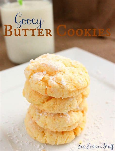gooey butter cookies recipe gooey butter cookies