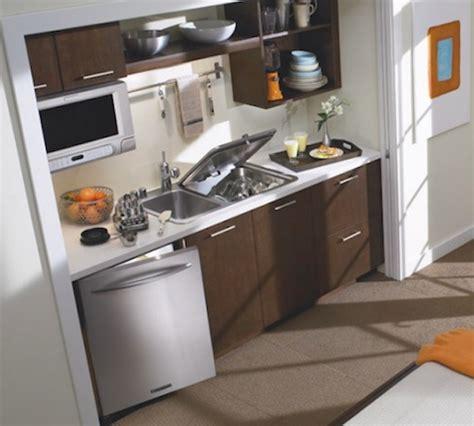 Kitchenaid Briva In Sink Dishwasher by Space Saving Kitchen Ideas Combo Sink And Dishwasher