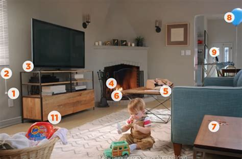 Room Cleaning Quiz by Can You Spot The 11 Child Safety Hazards In This New Viral