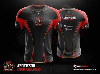 Jersey Esports Designs Behance Shirt Jerseys Sports