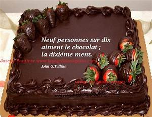 La Page De La Sagesse   Citation Sur Le Chocolat