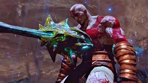 God Of War 3 Kratos Sacrifices Himself Ending Cutscene