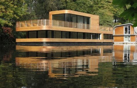 Houseboats Designs by These Amazing Houseboat Designs Will Convince You To Float