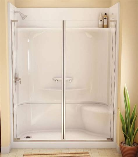 Fiberglass Shower Door by Best 25 Shower Units Ideas On Shower With Tub