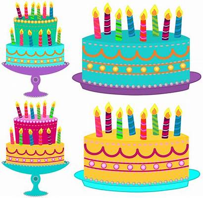 Birthday Cake Clipart Classroom Candles Cakes Treasures