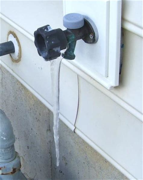 Leaking Outdoor Faucet Freezing by Ten Minutes Could Save Two Grand House Web