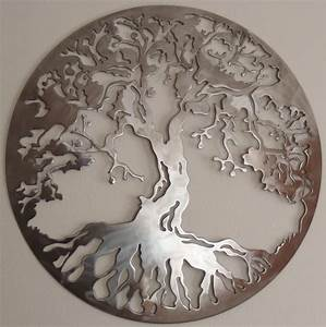 tree of life metal art wall decor With tree of life wall decor