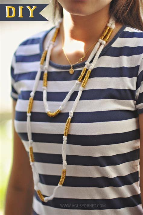 diy ring  twine necklace     hemp necklace