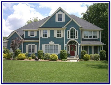 best colors to paint a house exterior painting home