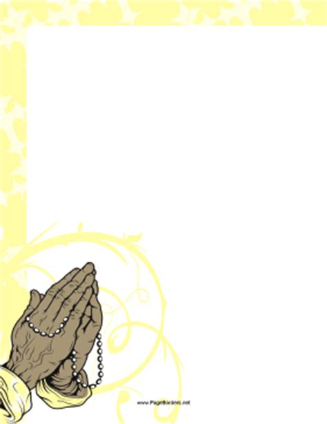 prayer clipart borders   cliparts  images