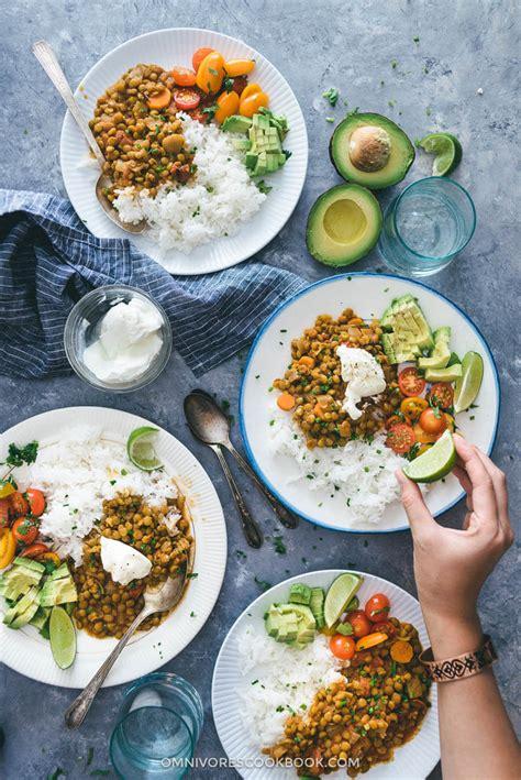and easy vegetarian meals easy vegetarian lentil stew omnivore s cookbook