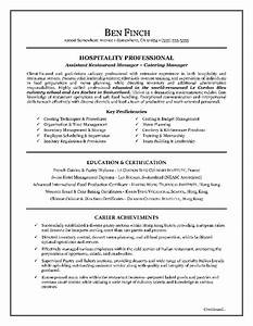 Hospitality resume writing example page 1 resume writing for Hospitality resume writing services