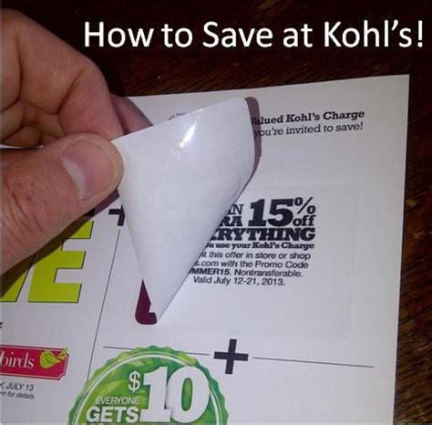 Kohl's Credit Card Get Kohl's Cash And Kohl's Discounts