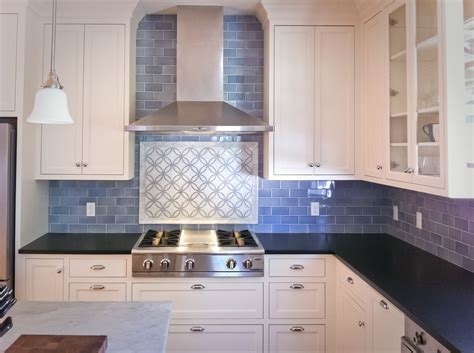 Images Of Kitchen Backsplash by Blue Backsplash With White Countertops Cobalt Subway Tile