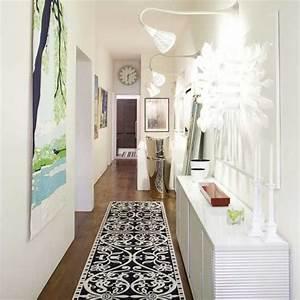 decoracion pasillos y recibidores consejos de iluminacion With couleur pour couloir sombre 2 modern pop art style apartment