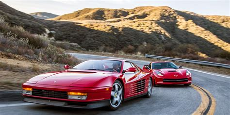 Youtuber speed phenom and his torch red 2020 corvette z51 coupe attended another open track day at willow springs and raced against a ferrari and mclaren. 2014 Chevrolet Corvette Stingray vs. 1990 Ferrari Testarossa