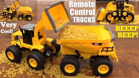 kids toy trucks rc trucks caterpillar construction