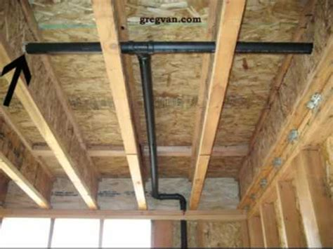 plumbing  floor framing drilling holes  truss joist