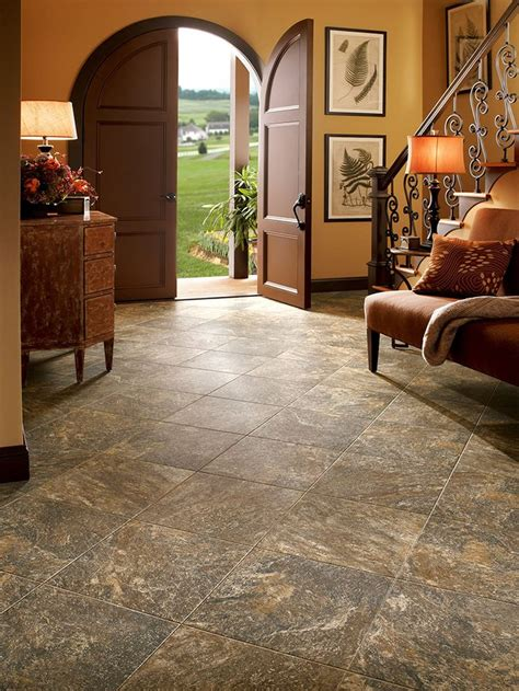 luxury vinyl tile flooring near me luxury vinyl armstrong luxury vinyl tile lvt brown stone look entryway ideas small kitchens pinterest