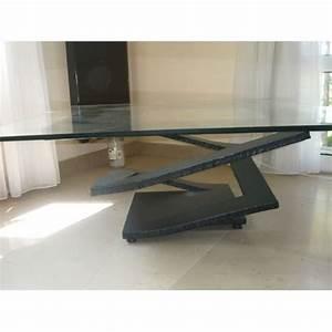 Table Basse Occasion : table verre roche bobois ~ Teatrodelosmanantiales.com Idées de Décoration