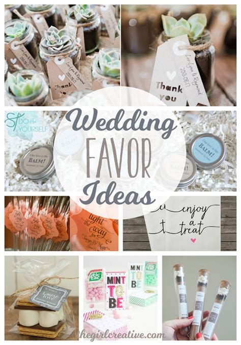 wedding favor ideas wedding favors budget friendly