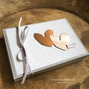 Geldgeschenk Zur Hochzeit Verpacken Stempel Stanze Und
