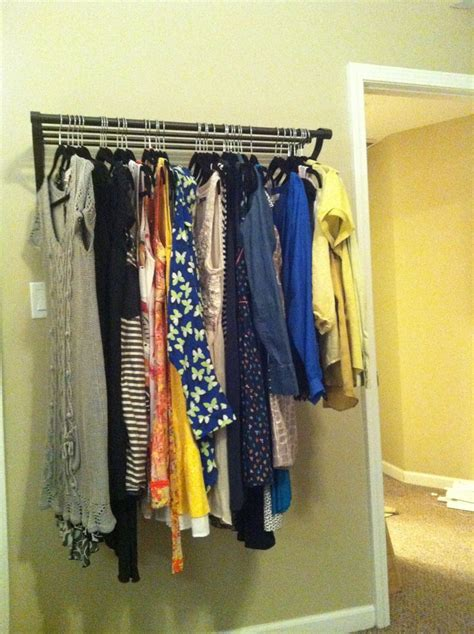 Solutions Closet Organizer by Best 25 No Closet Solutions Ideas On Diy