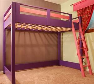 diy loft bed a loft bed is a great space saver for a kid With bunk beds for toddlers for multi purpose consideration