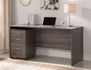 Grey Office Desk Best Home Design 2018