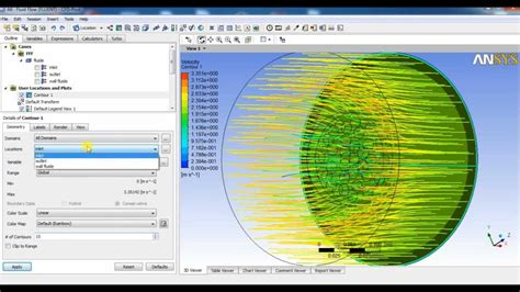 Ansys Fluent Tutorial (Basic flow simulation through ...