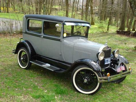 Purchase New 1929 Ford Original Tudor Sedan Fully Restored