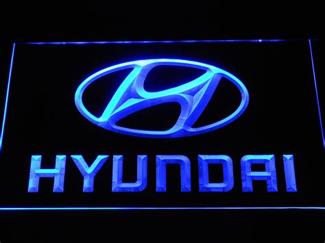 Hyundai Sign In by Hyundai Led Neon Sign Safespecial
