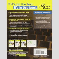 Download Cracking The Gre Premium Edition With 6 Practice Tests  2015 Graduate School Test